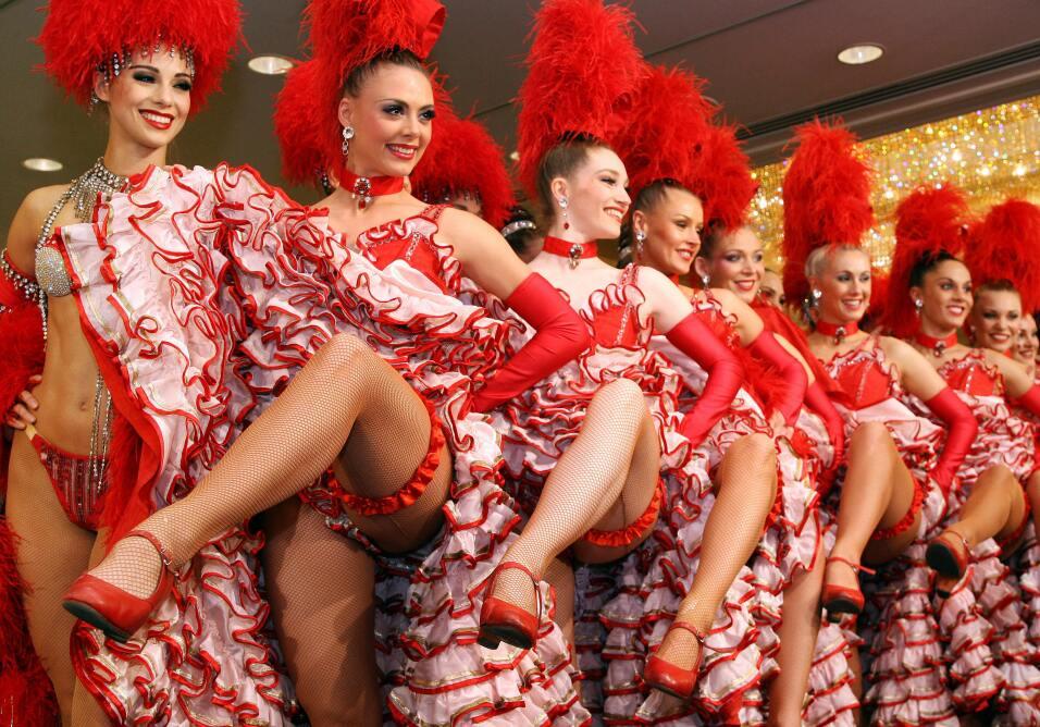 Elenco francés del Moulin Rouge llegó a NYC