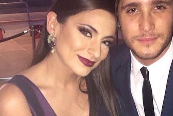 ¡Par de guapos! Ana Brenda y Diego Boneta.