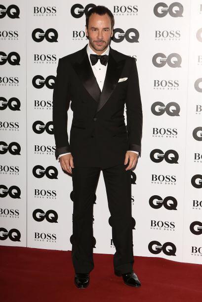 Obviamente uno de los mejores vestidos de la noche fue el diseñador Tom...