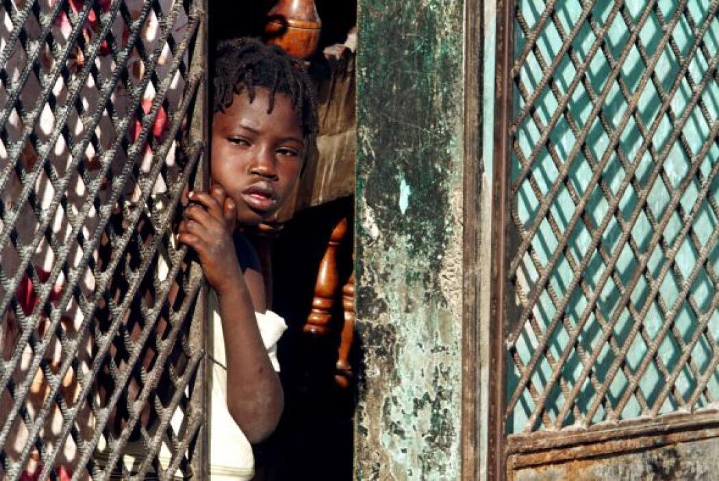 Los haitianos siguen esperando la ayuda prometida por Estados Unidos.