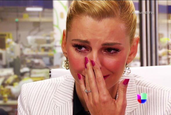 Pero no llores Sofía, aún no sabes que Silvana te está viendo la cara.