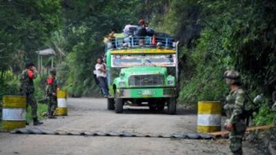 La guerrila de las FARC.