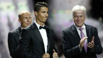 Ronaldo quiere volver a vivir lo mismo el próximo año: subir al escenari...