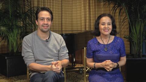 El compositor Lin-Manuel Miranda llevará a su madre a los Oscar