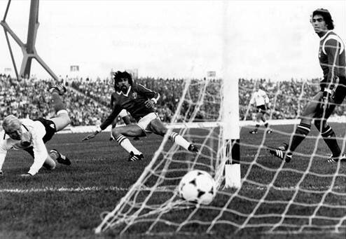 Pedro Soto (1978).- El arquero suplente en Argentina 78, entró de cambio...