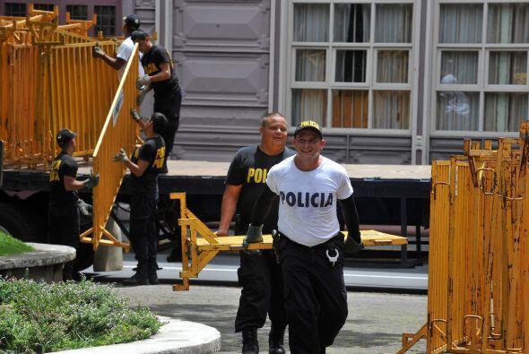 El ministro de Seguridad, Mario Zamora, explicó a periodistas que el ope...