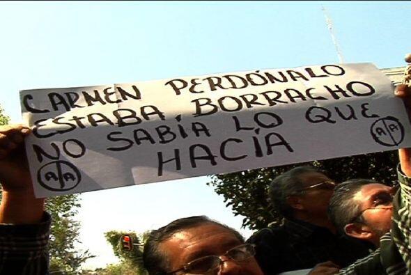 También hubo señalamientos a la presidencia del país, a quien Carmen cul...