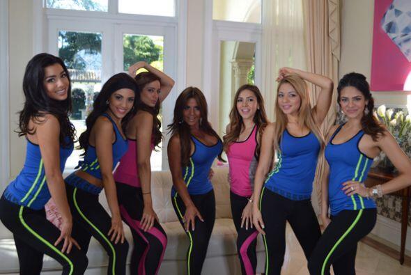 La modelo, actriz y empresaria puertorriqueña estuvo de paso en la mansi...