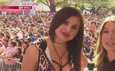 Elida Reyna siente el cariño del público en el Univision Fan Fair