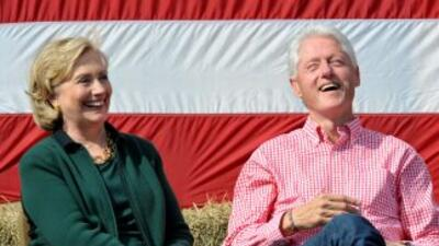 Hillary y Bill Clinton.
