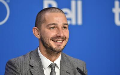TORONTO, ON - SEPTEMBER 15: Actor Shia LaBeouf speaks onstage during the...