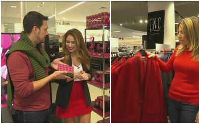 Diviértete con Fernanda Kelly y Luis Sandoval comprando regalos para 'Se...