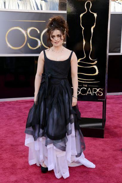 Tal parece que para Helena Bonham Carter todos los días son Hallo...