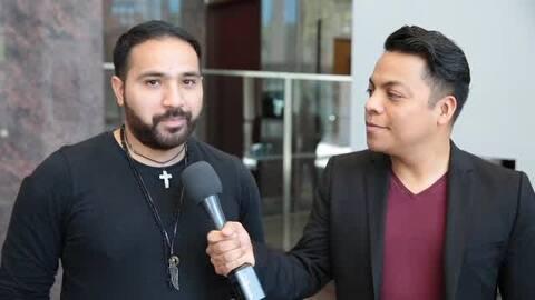 Danny Luna habló con el director de una pelicula que habla de inmigrantes.