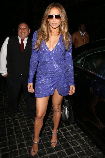 Para lograr las piernas de Jennifer Lopez y lucir microvestidos al igual...