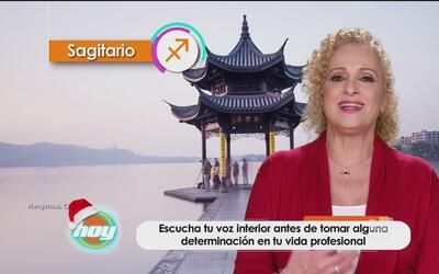 Mizada Sagitario 06 de diciembre de 2016