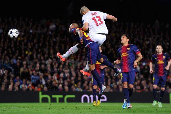 El PSG se acercaba con peligro en cada uno de sus contragolpes.