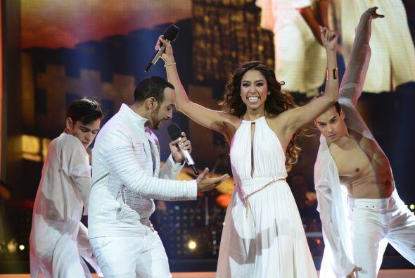 """Virginia y José Palacio interpretaron """"Aire soy""""."""