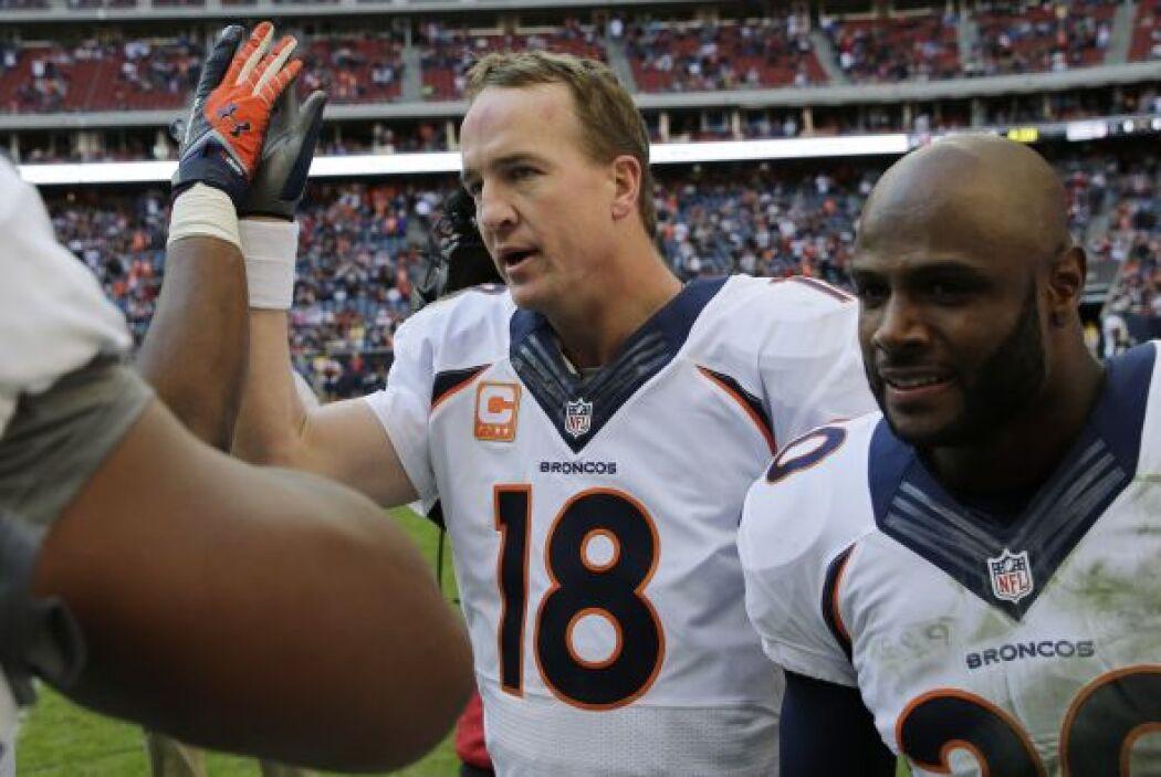 2. Denver Broncos. Porcentaje de triunfos de sus rivales: .570 (AP-NFL).