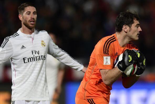 El juego era ríspido y los del Madrid no están acostumbrados a que les m...