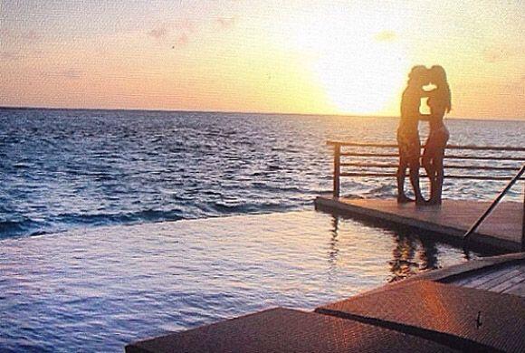 Luis y Ana disfrutando de un viaje lleno de romance. (Junio 8, 2014)