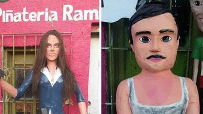 Piñata del Chapo y Kate del Castillo