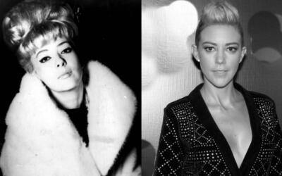 El parecido entre Silvia Pinal y la actriz Fernanda Castillo (derecha) s...