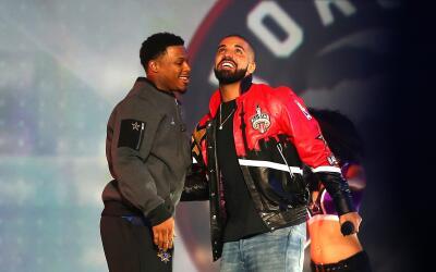 Drake, fanático de los Raptors fue anfitrión en el Juego d...