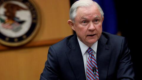 "Jeff Sessions: ""Si usted es un pandillero lo encontraremos, destruiremos..."