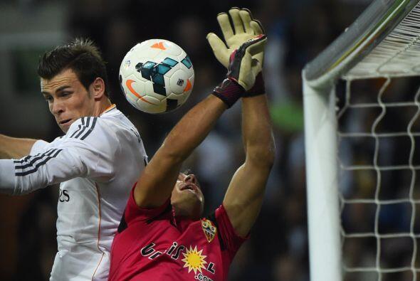 El Real Madrid tuvo 29 tiros a meta, por solo  5 de un Almería qu...