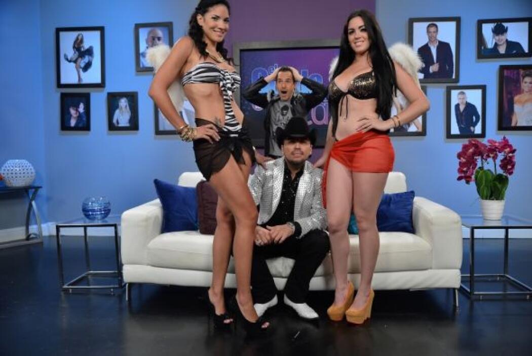 Fidel Rueda tuvo una sexy compañía