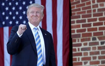 Donald Trump señaló cuáles serían sus prioridades en sus primeros 100 dí...