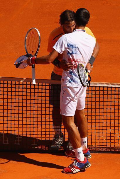 """""""Felicidades a Djokovic por su gran temporada"""", dijo Nadal."""