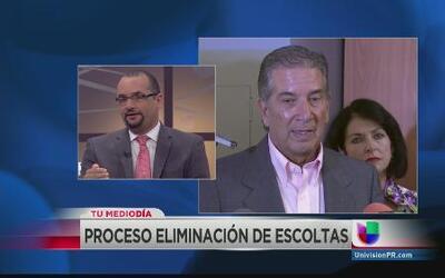 El debate sobre las escoltas de los ex mandatarios en Puerto Rico