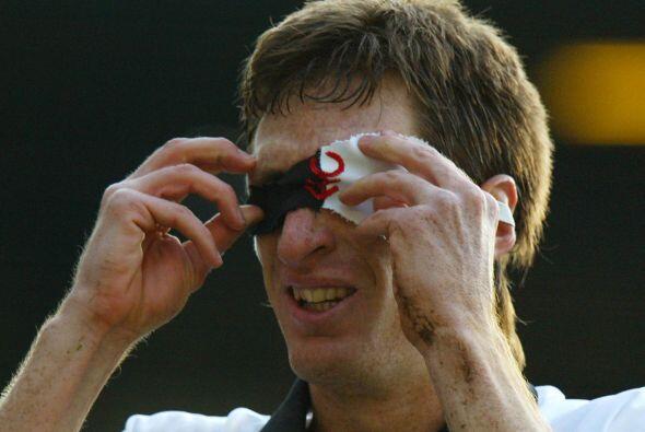Facundo Sava, jugador argentino, celebraba con una máscara al estilo del...