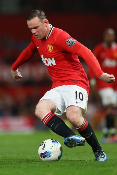 Pero Rooney y compañía empezaron a mover la pelota, aunque...