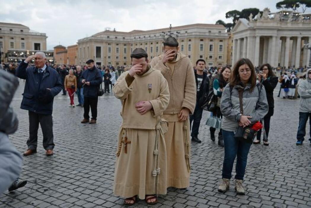 Tras la celebración, los purpurados se retiraron a la residencia de Sant...