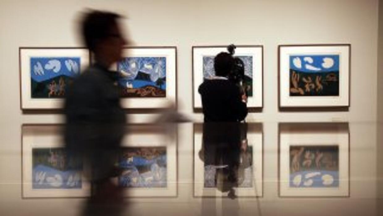 Una de las obras hurtadas fue pintada por Picasso en 1934.