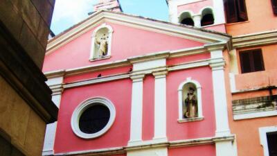 Una iglesia del Viejo San Juan