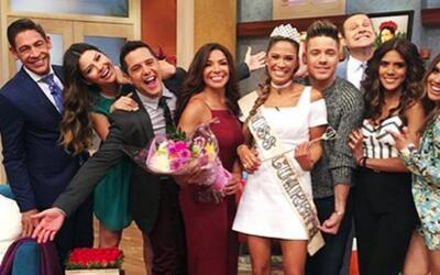 Karla Martínez fue coronada como la nueva Miss Cuarenta