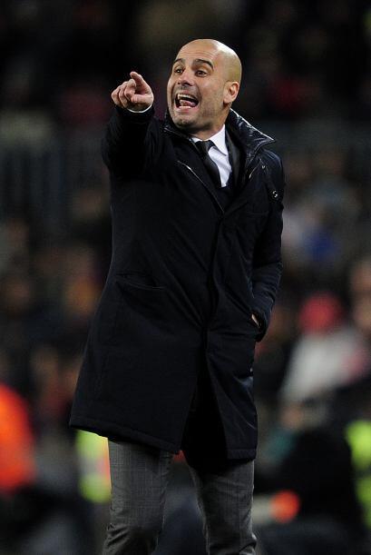 Josep Guardiola le pedía concentración total a sus jugadores.