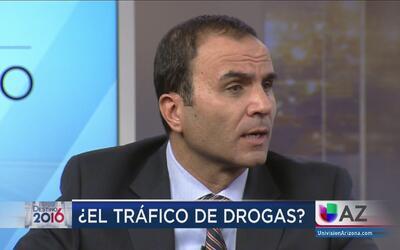 ¿Qué estrategias piensa utilizar contra el narcotráfico?