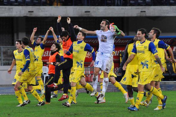 Por último el Chievo Verona también por la mínima l...