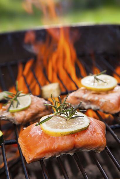 Ahora que si no te gusta la carne de puerco y res, puedes poner salmón a...