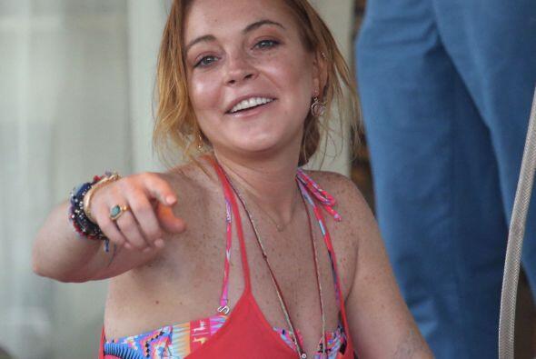 Dicen que Lindsay Lohan ya habló con una importante editorial y están de...
