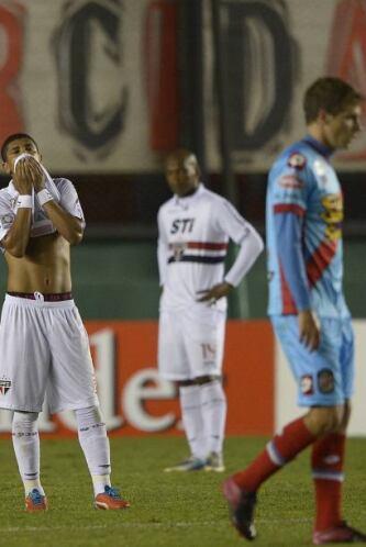 Con este resultado Atlético Mineiro encabeza la clasificación del grupo...