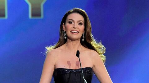 Bárbara Palacios en los premios Grammy (archivo)