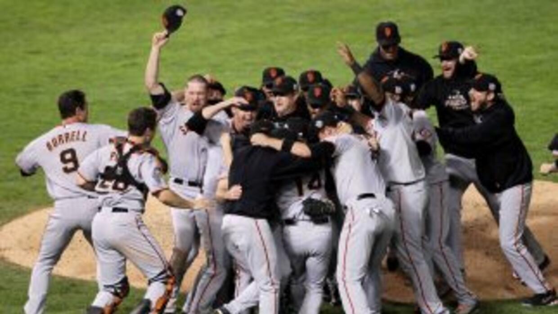 Los Giants de San Francisco celebran su sexto título de Serie Mundial y...