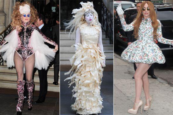 ¡Lady Gaga tiene imaginación de sobra! Chequen nada m&aacut...