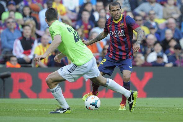 A una semana de jugar el 'derby' español, el Barcelona recibió en el est...